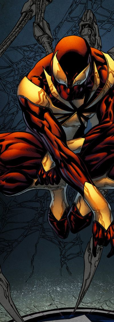 Iron Spider-Man - Spidermanfan2099 colors wip by SpiderGuile.deviantart.com on @deviantART