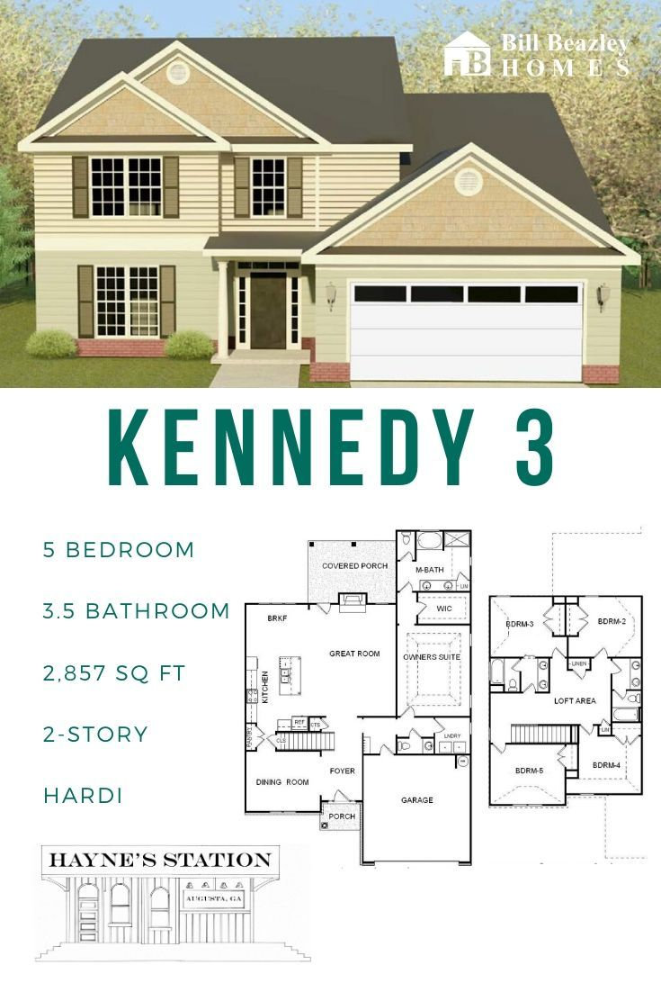 The Kennedy 3, located in Hayne's Station Neighborhood in