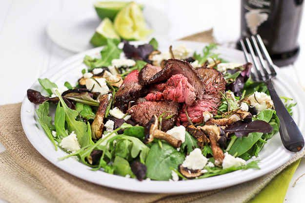 ... And Delicious Low-Carb Lunches | Steak Salad, Goat Cheese and Steaks