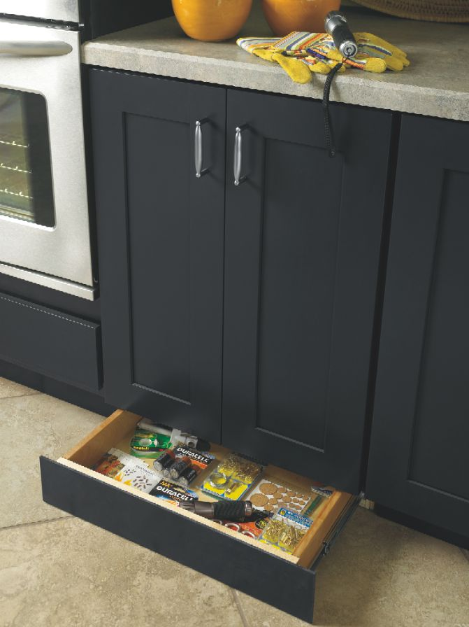 Baseboards Donu0027t Have To Be Wasted Space. Diamondu0027s Innovative Toekick  Drawer Was Featured