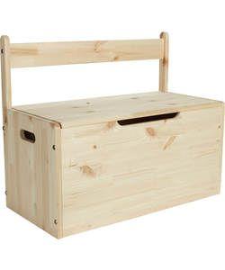 Kids' Scandinavia XL Toybox - Pine.