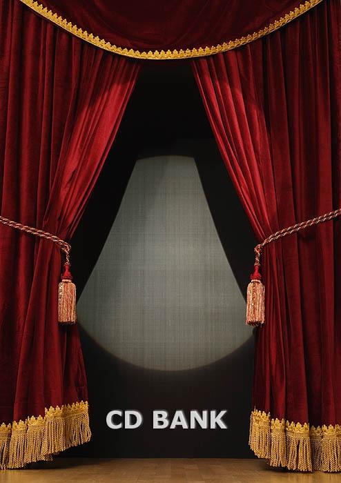 Burgundy theatre curtains gold fringe theatre pinterest