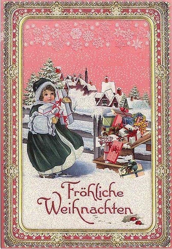 Christmas Post Сards ( Germany) — Many Presents  (553x800):