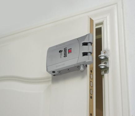 Gescasi Cerradura de seguridad invisible Remock Lockey