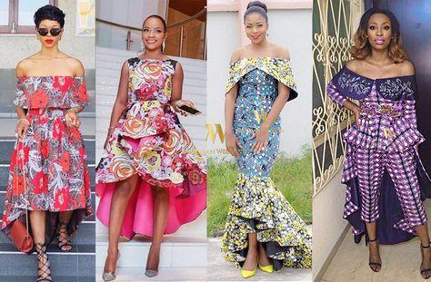 Nigerian Wedding Latest Ankara Styles: Check Out 40 AMAZING Ways To Rock The Latest Ankara Hi-Lo Top, Skirt & Dress Trend