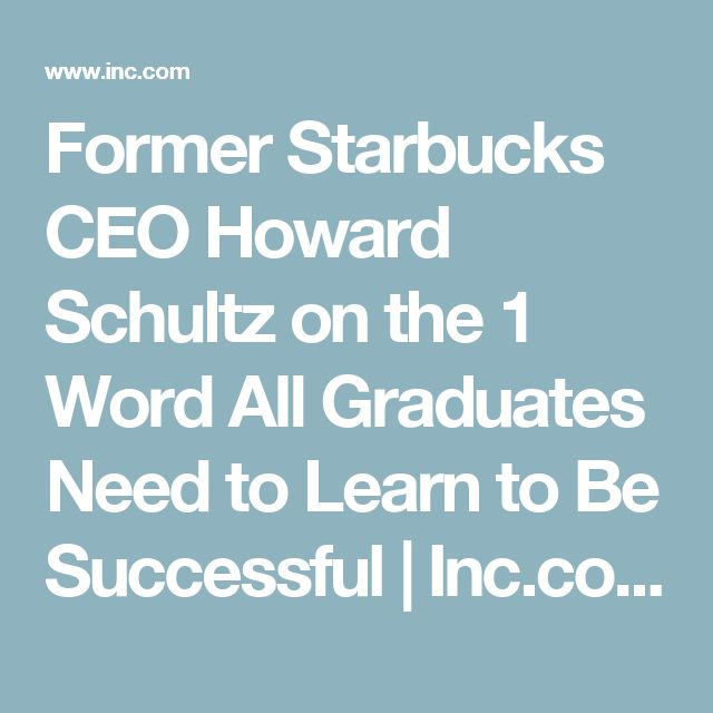 howard schultz starbucks and life lessons essay Howard schultz's second self-flattering memoir about running starbucks corp, onward: how starbucks fought for its life without losing its soul, will be required reading for a small circle of people: those who might hope to succeed him as chief executive of the $107-billion-a-year coffeehouse chain.