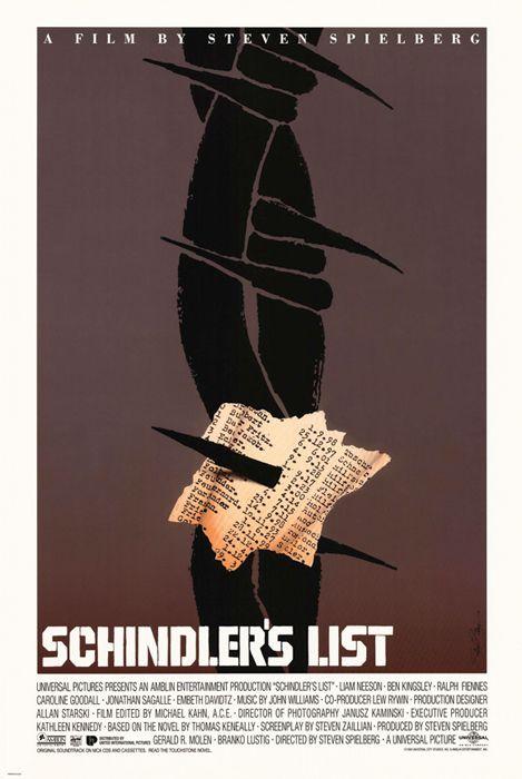 """""""Schindler's List"""" (Steven Spielberg, 1993)"""