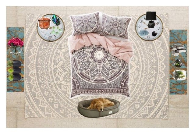 """Sunny one so true"" by ashleybieber on Polyvore featuring interior, interiors, interior design, home, home decor, interior decorating, Plum & Bow, Magical Thinking, Alouette and Helix & Felix"