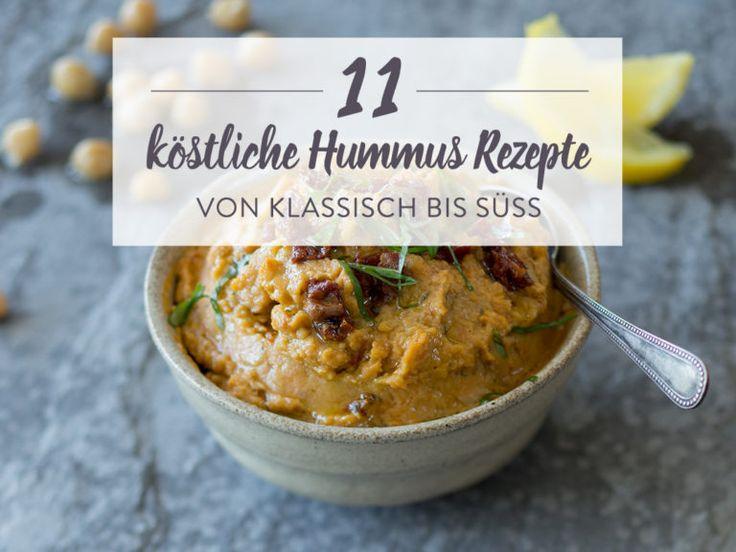 11 Hummus Rezepte für mehr Abwechslung im Dip-Schälchen