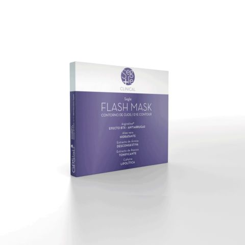 Segle Clinical Mascarilla Flash, Pack 4.