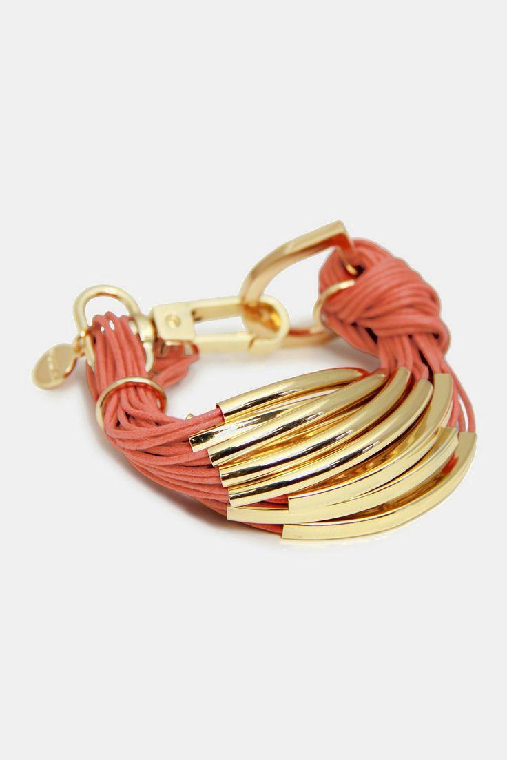 String Bracelet - Terracotta