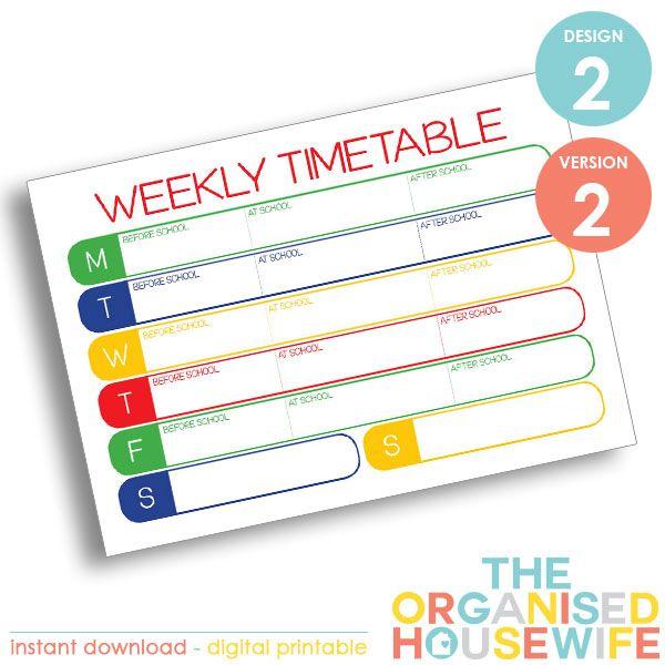 {The-Organised-Housewife}-School-Weekly-Timetable—Design-2—Version-2