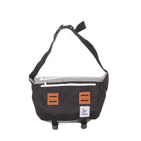 CUB TRAVELER Messenger Grey Black, Special Feature: Unique design and big compartement, Spesification: Dimension: 30 x 20 x 15 cm, Material: High Quality Cordura + inner lining torin water repellent, Large Main Compartment, 1 zippered pront pocket + 1 back pocket, Padded Shoulder Straps, Near-back quick access pocket, Reinforced Waterproof Bottom, For INFO & ORDER check out our BOARD,#backpackerindonesia #brand #backpack #bags #localbrand #tasransel #travelbag #tas #indotravelers