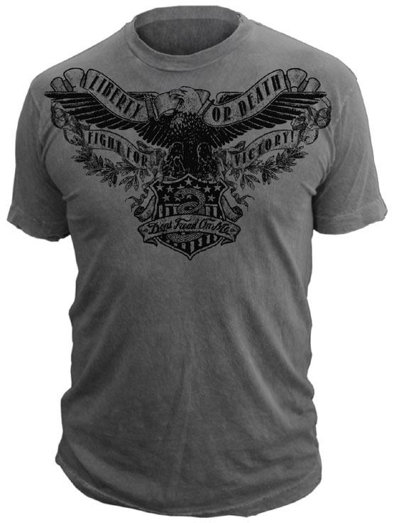 EAGLE SHIELD - Don't Tread On Me® T-Shirt