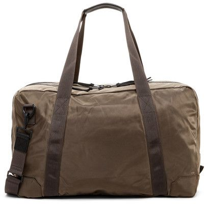 AllSaints Nakano Cow Leather Trim Holdall Bag