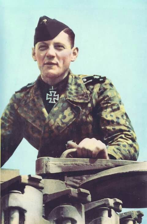 """The Tiger Tank Gunner of Michael Wittmann, Balthasar Woll """"Bobby"""" LAH, s.SS.Pz.Abt.101 in Normandy 1944"""