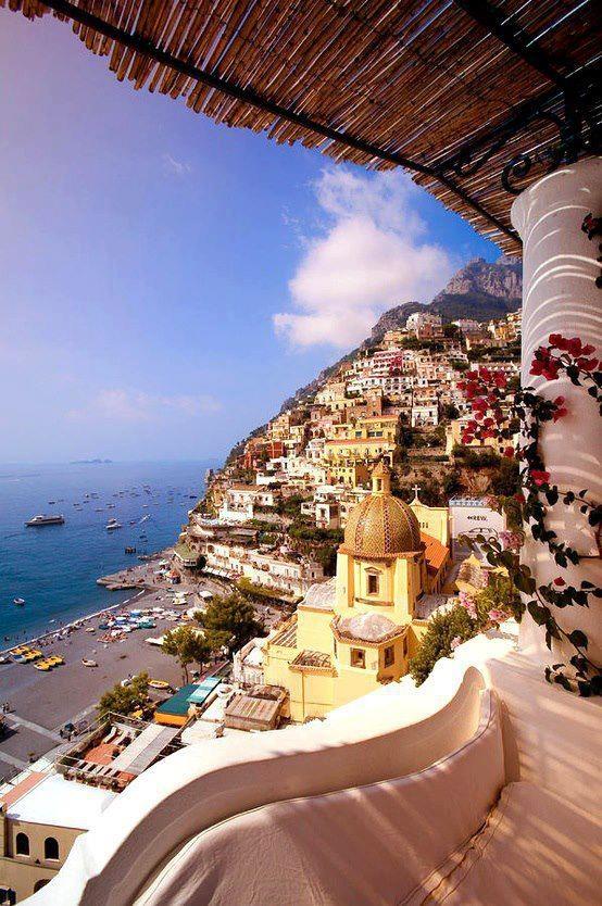 Positano, Italy it just looks so interesting!