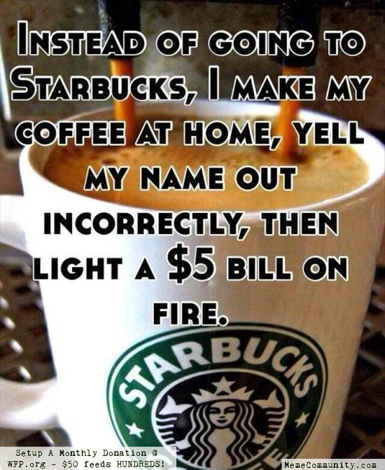 Image result for starbucks meme