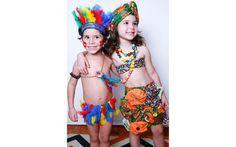 Fantasias de carnaval para crianças feitas em casa - Filhos - iG