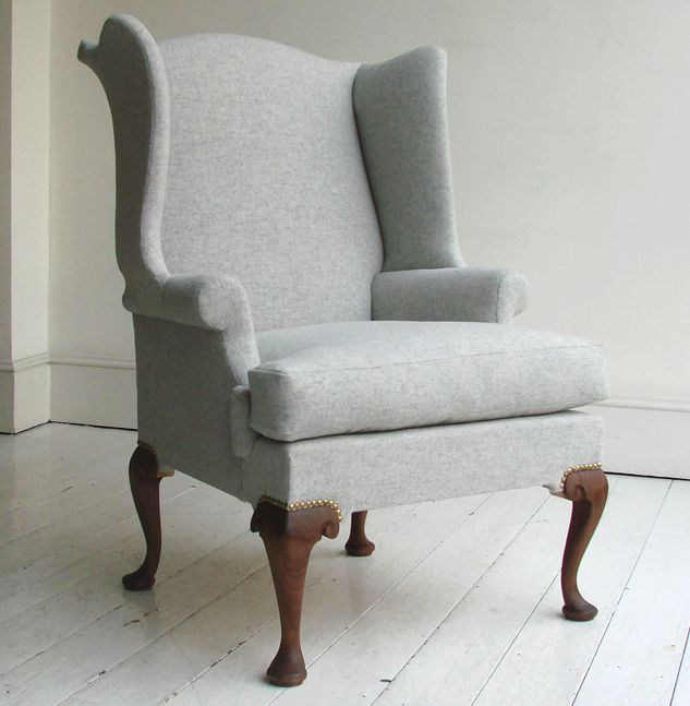 Queen Anne Wing Chair: Remodelista
