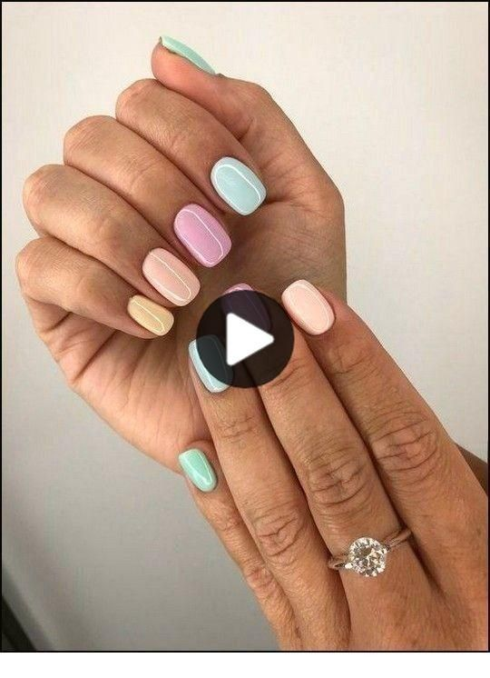 30 Best Spring Nail Designs Inspire Your Next Manicure In 2020