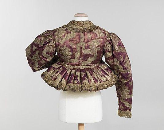 20-11-11  Jacket                                                                                      Date:                                        1840–80                                                          Culture:                                        Russian                                                          Medium:                                        silk, metal, cotton                                                          Dimensions…