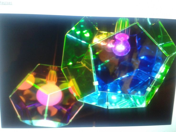 Lámpara  pentagonal