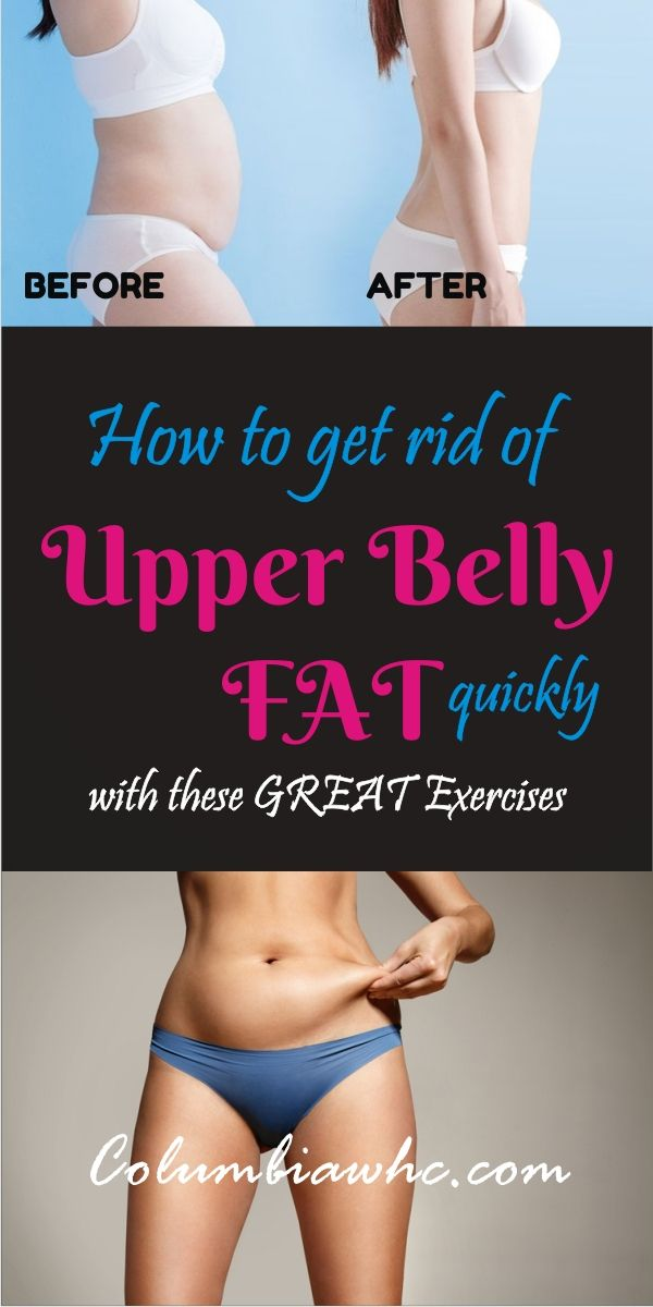 Do You Want To Lose Upper Belly Fat Faster I Give You 8 Great