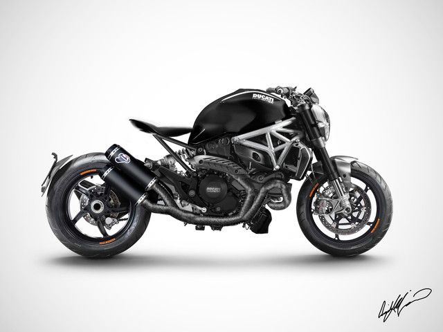 photo monster-1200-custom from arrick | ducati community