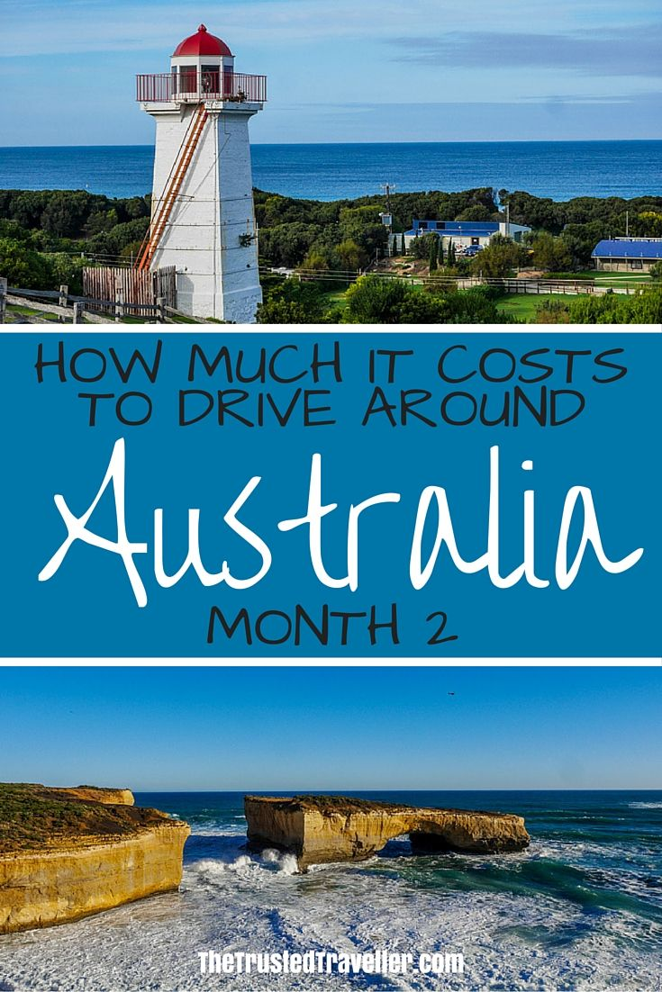 How Much it Costs to Drive Around Australia – Month 2 - The Trusted Traveller