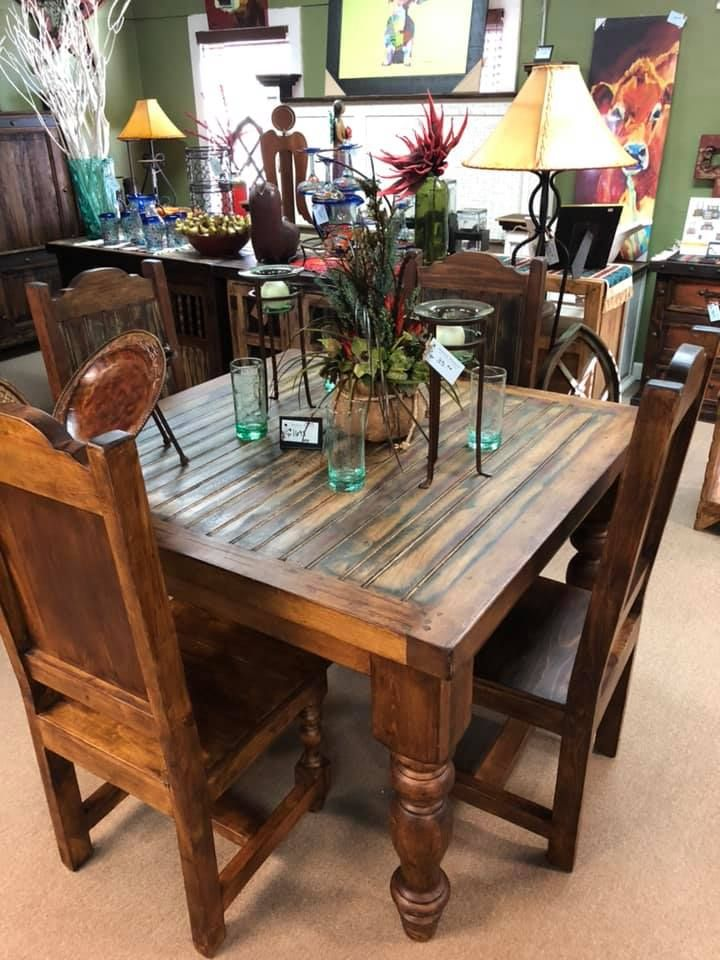 Western Decor Rustic Tables Southwestern Furniture Agave