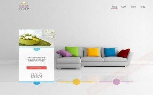 An interior Design web theme