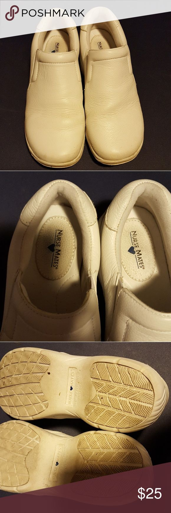 Nurse mate shoes White shoes in wide width great for being on your feet all day nurse mates Shoes Flats & Loafers