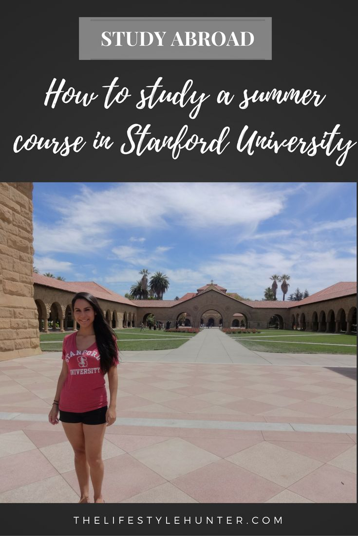 My experience studying a summer course in Stanford