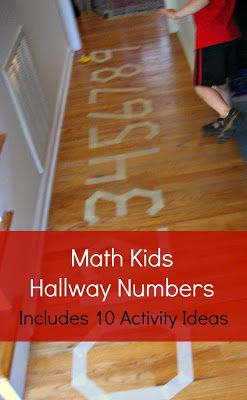 YES  Math Kids- Hallway Numbers by JDaniel4's Mom
