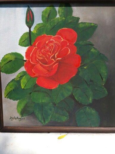 40x40 cm acrilic on canvas