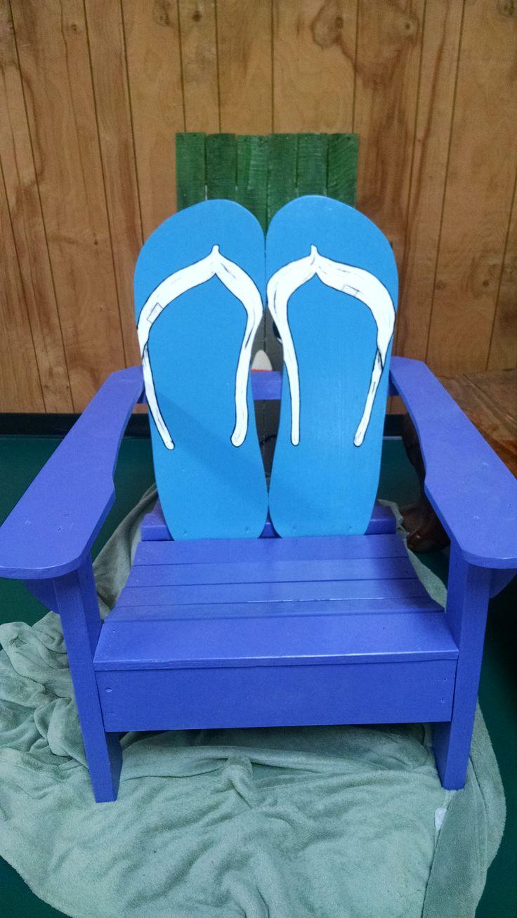 flip flop Adirondack chair Beach chairs diy