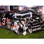 Dale Earnhardt Death Car | Image 1 DALE EARNHARDT SR. 2001 DAYTONA 500 CRASH CAR 1/24