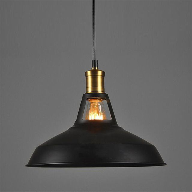 European Vintage LOFT Industrial Chandelier Bar Lamp Retro Light Vintage Industrial Style Lighting Decoration With E27 40W Lamp