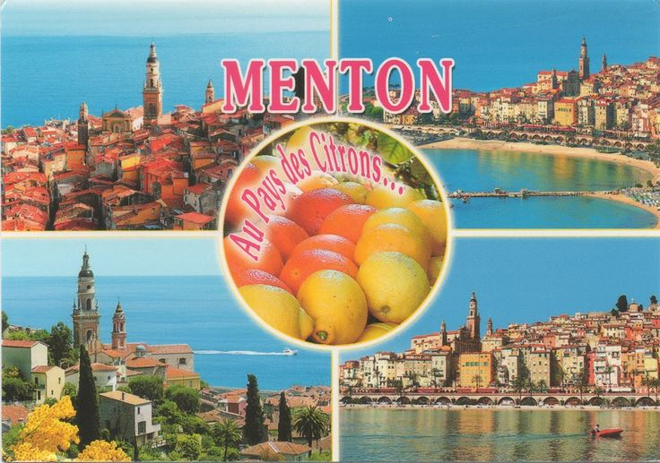 "FR-920478 - Arrived: 2017.09.28   ---   Menton is a commune in the Alpes-Maritimes department in the Provence-Alpes-Côte d'Azur region in southeastern France. Situated on the French Riviera, along the Franco-Italian border. The Menton area has been inhabited since the paleolithic era, and is the site of the original ""Grimaldi Man"" find of early modern humans, as well as remains of Neanderthals and Cro-Magnons."