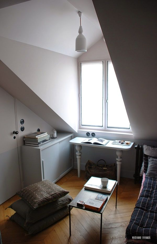 How about an entire apartment thats less than 125 square feet yes its possible and its in paris