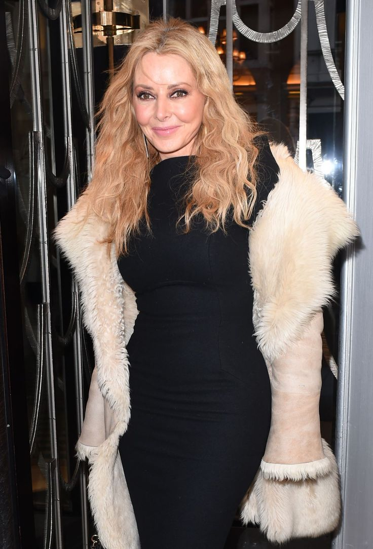 Carol Vorderman seen at outside of the Claridge's Hotel in London - http://celebs-life.com/?p=82074