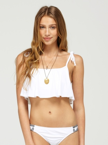 Roxy summer of love bikini white