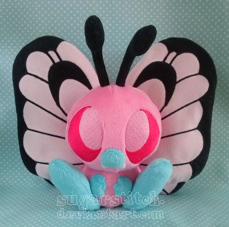 Pokemon: Pink Butterfree by sugarstitch on DeviantArt