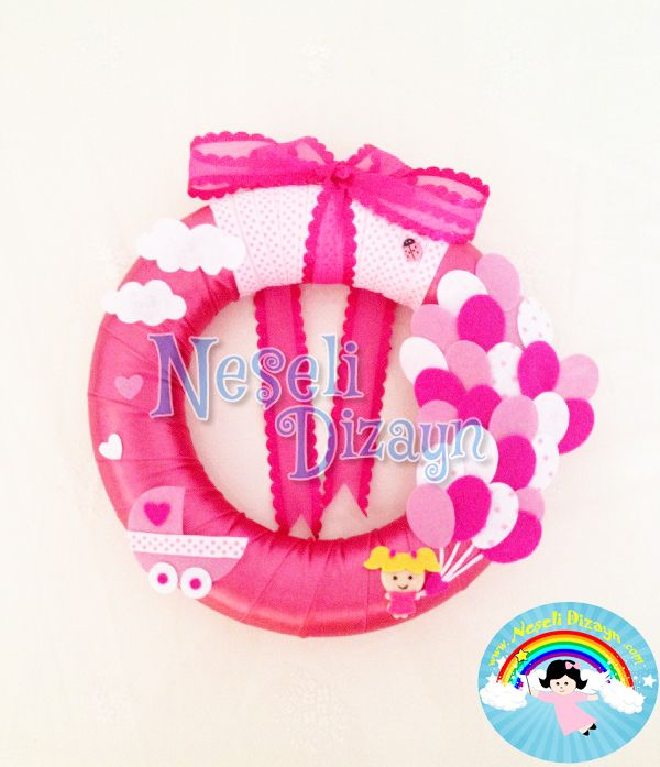 Neşeli Balonlar Kapı Süsümüz www.neselidizayn.com da:)