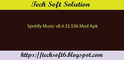 Spotify Music v8.4.33.536 Mod Apk Free Download | Latest 2018