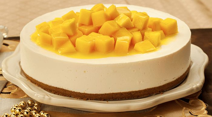 Mango Cheese Cake Cutting – Cake Cutter Machines