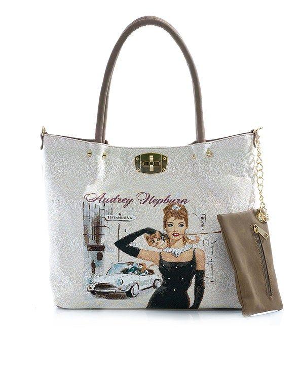 Audrey Hepburn Bayan El Çantası