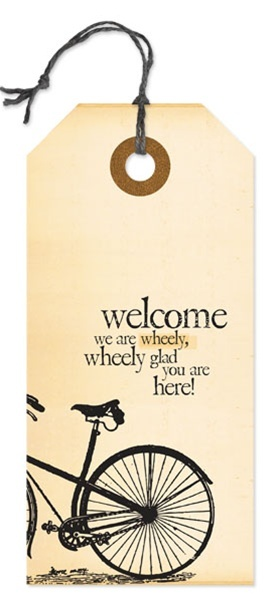 Danielson Design Wood Tag Welcome  sc 1 st  Pinterest & 7 best front door sayings images on Pinterest | Welcome signs ...