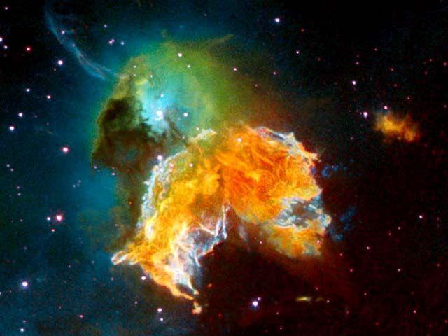 Supernova Remnant--Hubble Image